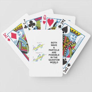 Båda vinkar, & partikeln är möjligheten i spelkort