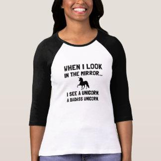 Badass Unicorn T Shirt