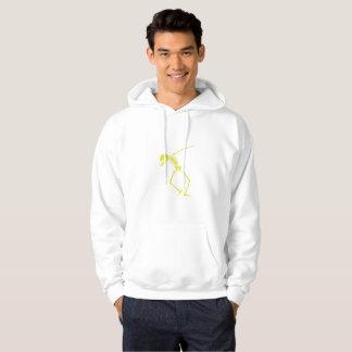 Badda den skelett- skallen för klickDabbin hip hop Sweatshirt