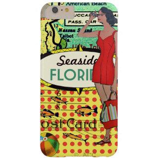 Baddräkt för skönhet för Florida sjösidabadning Barely There iPhone 6 Plus Fodral