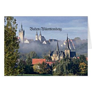 Baden-Wüerttemberg Hälsningskort