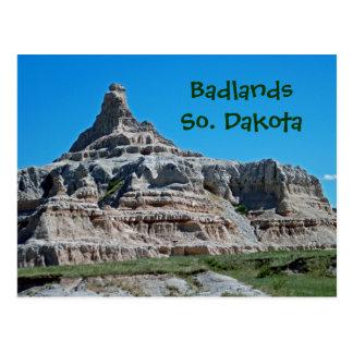 Badlands nationalpark, South Dakota Vykort