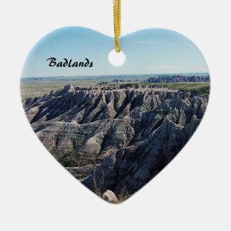 Badlands South Dakota Julgransprydnad Keramik
