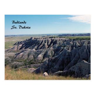 Badlands South Dakota Vykort