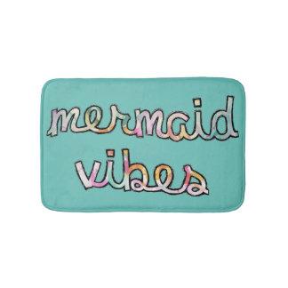 Badmatta för dekor för badrum för sjöjungfruVibes Badrumsmatta