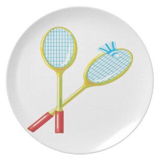 Badminton 3 tallrik