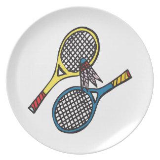 Badminton 8 tallrik