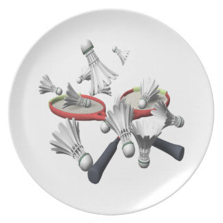 Badminton Tallrik