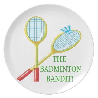 Badmintonbanditen Tallrik