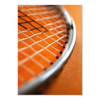 Badmintonracket 12,7 X 17,8 Cm Inbjudningskort