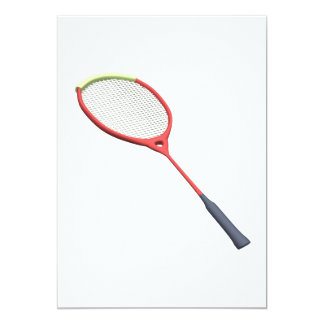BadmintonRacquet 12,7 X 17,8 Cm Inbjudningskort