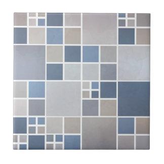 Badrummen för kök för mönster för blåttstranden kakelplatta