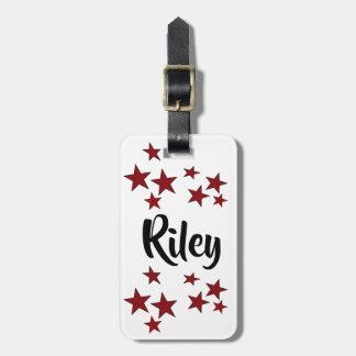 bagagemärkre för #riley va-ca vid DAL Bagagebricka