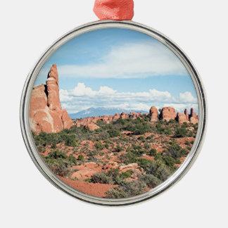 Bågar nationalpark, Utah, USA 2 Julgransprydnad Metall