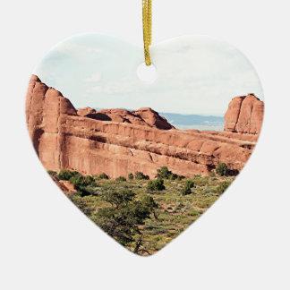 Bågar nationalpark, Utah, USA 5 Julgransprydnad Keramik
