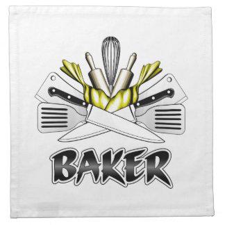 Bagare: MatlagningUtensils Tygservett