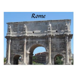 Båge av Constantine, Rome Vykort