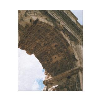 Båge av Titus, Rome - slågen in kanvastryck