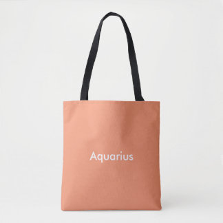 Bage för Aquariuszodiactoto Tygkasse