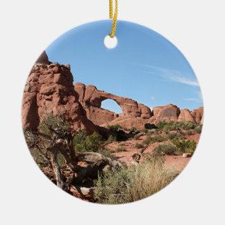 Bågenationalpark, nära Moab, Utah, USA Julgransprydnad Keramik