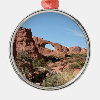 Bågenationalpark, nära Moab, Utah, USA Julgransprydnad Metall