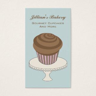 Bagerivisitkort - chokladmuffin visitkort