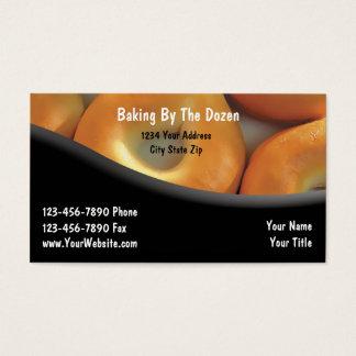 Bagerivisitkortar Visitkort