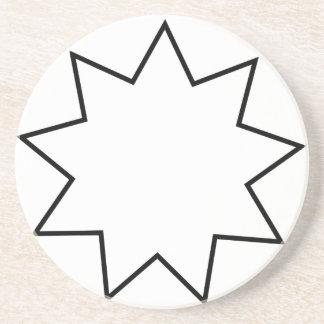 Bahai symbol underlägg