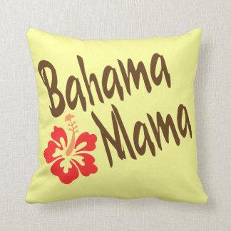 Bahama mammor med hibiskus kudde