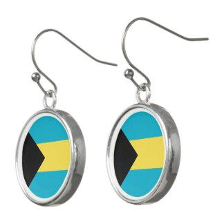Bahamas flagga örhängen