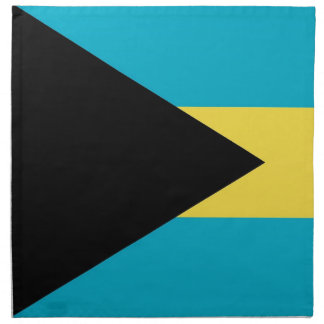 Bahamas flagga på den MoJo servetten Servetter