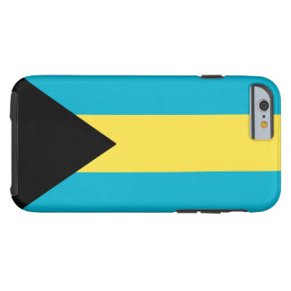 Bahamas flagga tough iPhone 6 fodral