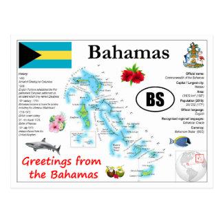 Bahamas kartavykort vykort