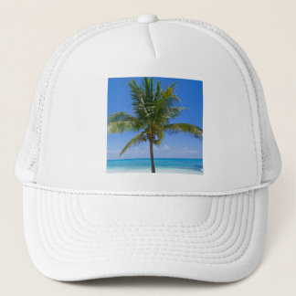 Bahamas palmträd truckerkeps