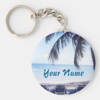 Bahamas personlignyckelring rund nyckelring