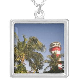 Bahamas storslagen Bahama ö, Freeport som ställer Silverpläterat Halsband