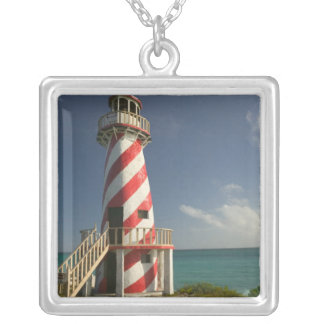 BAHAMAS storslagen Bahama ö, östlig sida: Town Silverpläterat Halsband
