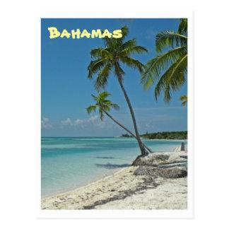 Bahamas strandvykort vykort