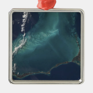 Bahamas'nas den långa smala Eleuthra ön Julgransprydnad Metall