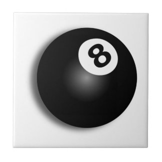 Bak bollen åtta! kakelplatta