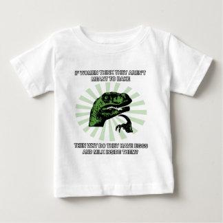 Baka för Philosoraptor kvinnor Tee Shirts