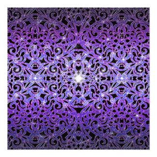 Bakgrund för abstrakt för fototryckblommigt fototryck