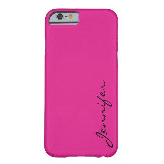 Bakgrund för Barbie rosafärg Barely There iPhone 6 Skal