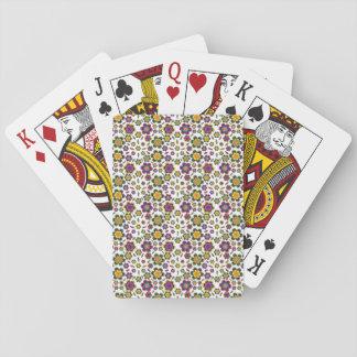 Bakgrund för design för Vintage-Stil Paisley Spelkort