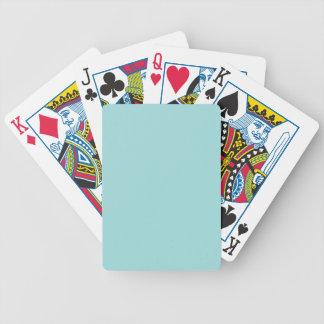 Bakgrund för färg för kricka för Aqua för Spelkort