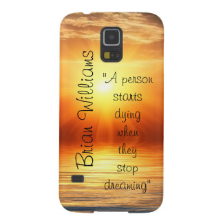 Bakgrund för solnedgång för Brian Williams Galaxy S5 Fodral