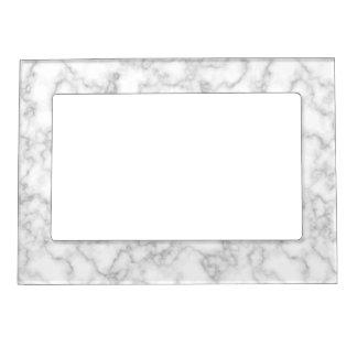 Bakgrund för sten för marmormönstergrått vit ramar med magnet