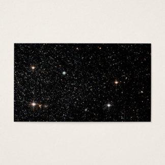 Bakgrund - natthimmel & stjärnor visitkort