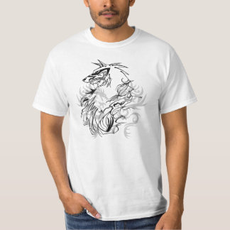 bakgrund Tribal_Wolf_Thingy_by_coconutscrumble T Shirts