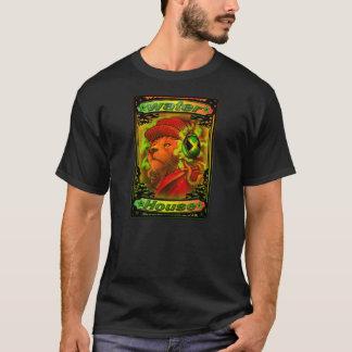 BAKSIDA för DJ W/DANCEHALL DJS för T-tröja HÖGRE T-shirt